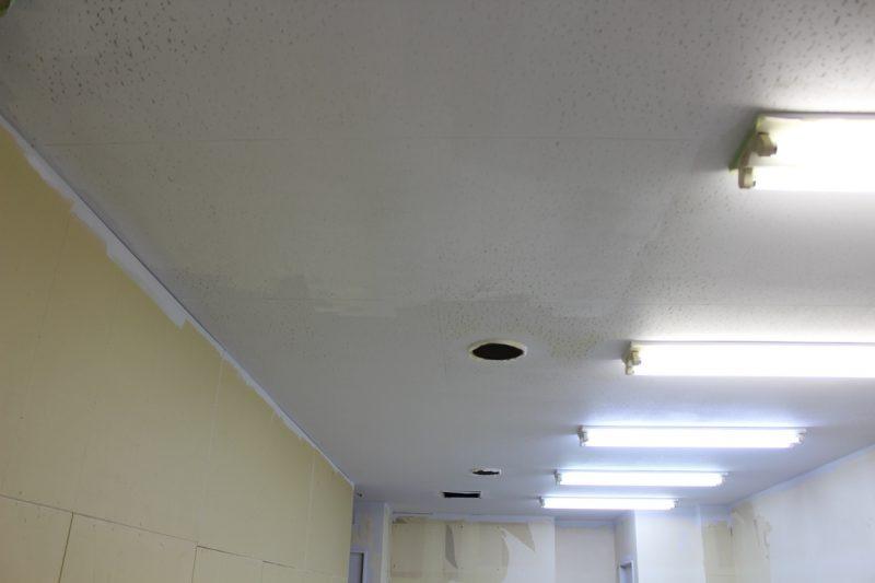 天井塗装画像