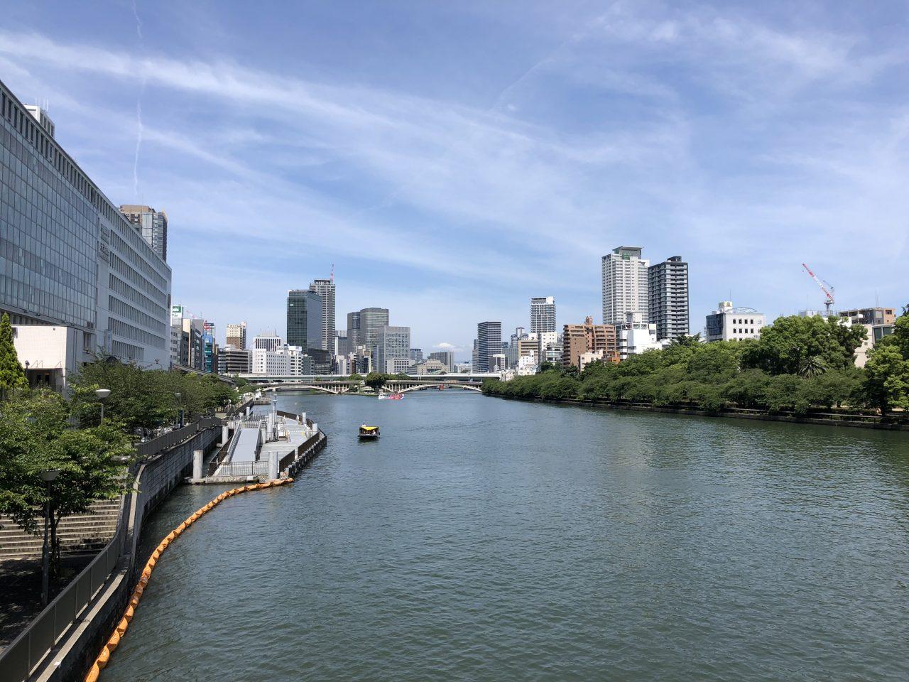 大阪天満付近画像